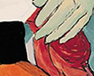 עיצוב ספר אומנות של הציירת פליס פזנר מלכין
