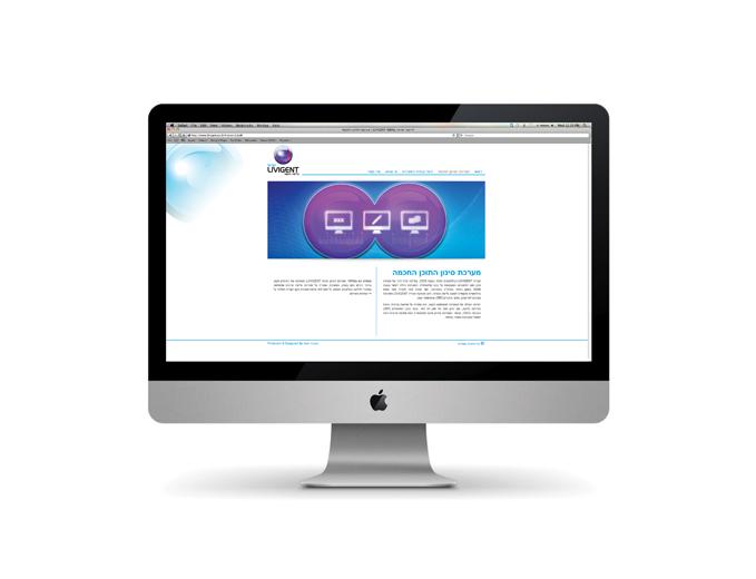 אתר אינטרנט ליווגנט- דף פנים