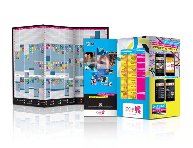 פרסום שידורי האולימפיאדה בערוץ הראשון - לוח שידורים