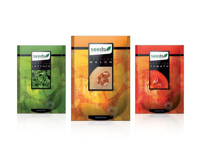 עיצוב אריזות מוצרים לחברת זרעים טכנולוגיות