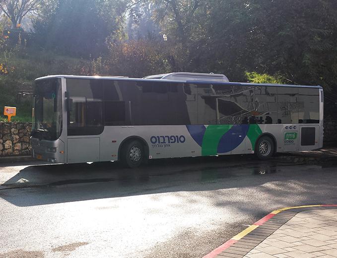 מיתוג רכבים ואוטובוסים סופרבוס