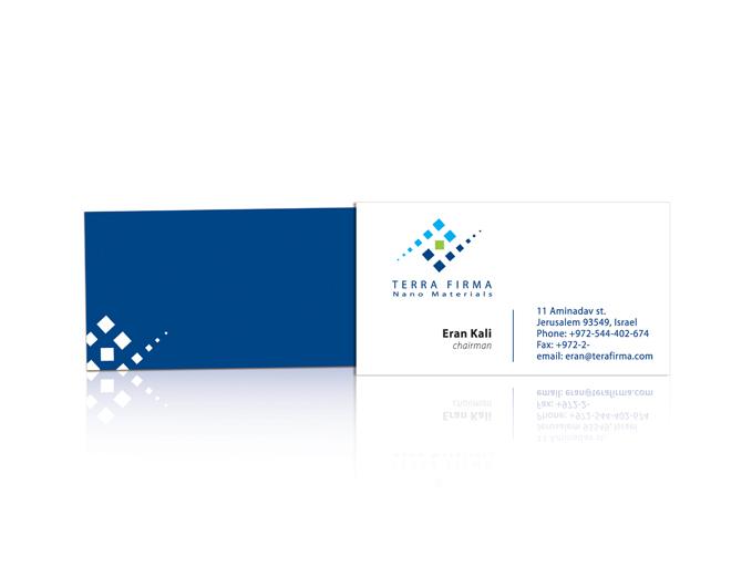 עיצוב כרטיס ביקור חברת Terra Firma