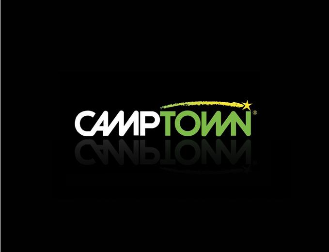 עיצוב לוגו מותג camptown