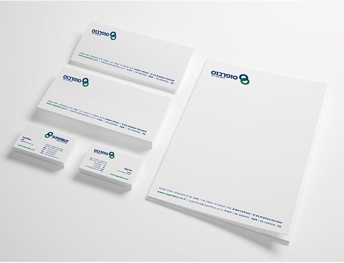 עיצוב ניירת משרדית סופרבוס