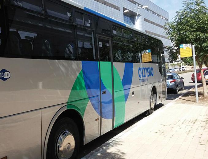 מיתוג רכבים מיתוג אוטובוסים סופרבוס