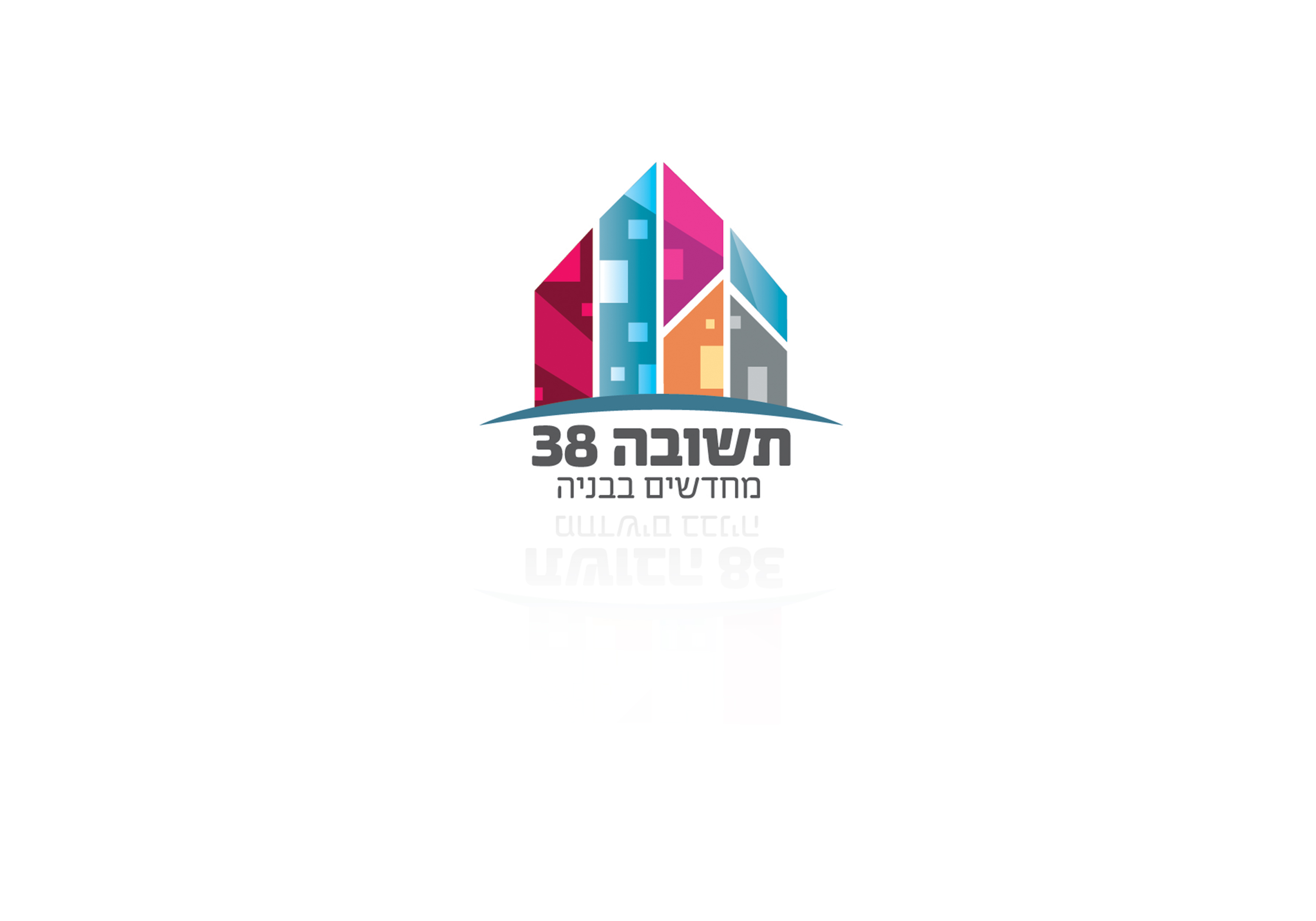 מיתוג חברת הנדל״ן תשובה38 - עיצוב לוגו